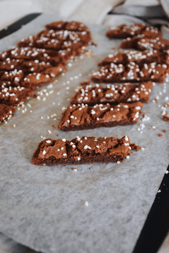 """Chokladsnittar"" aka Cut Chocolate cookies"